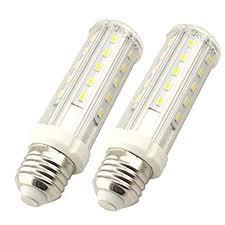 Bonlux 2-Pack 10W <b>E27</b> LED <b>Corn Light Bulb</b> Cool White 6000K ...