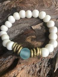 <b>FREE SHIPPING Round</b> Blue Bead Bracelet - The Southern Grind ...