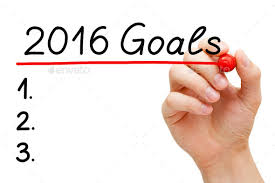 Image result for goals for 2016