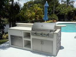 Prefab Outdoor Kitchen Island Prefabricated Outdoor Kitchen Accessories Outdoor Furniture Style