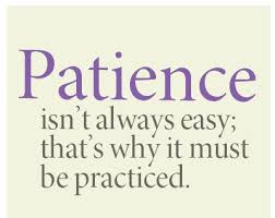 Image result for being patient