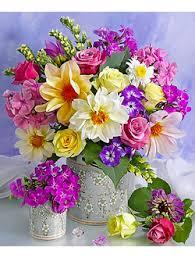 (алмазные картины) - Цветы