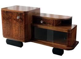 english art deco figured walnut veneer low cabinet art deco figured walnut wardrobe vintage