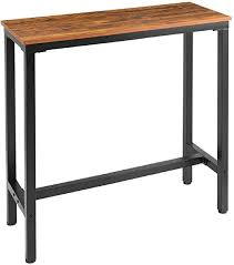 "Mr IRONSTONE 39.4"" Bar <b>Table Vintage</b> Pub Dining Height <b>Table</b> ..."