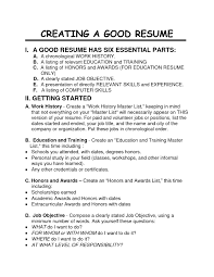 the most incredible preparing a good resume resume format web examples of resumes acting resume example good objective in preparing a good resume