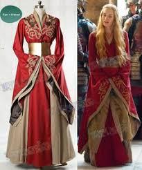 Resultado de imagen de cersei lannister vestidos