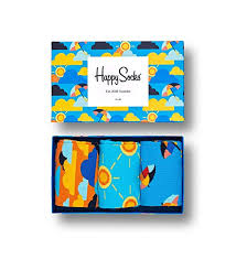 <b>Happy Socks</b>, Exclusive Colorful Premium Cotton Sock Gift Box for ...