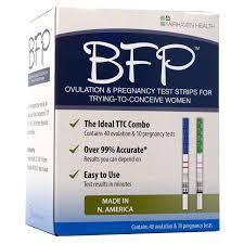 <b>BFP Ovulation & Pregnancy</b> Test Strips, Made in N. America, 40 LH ...