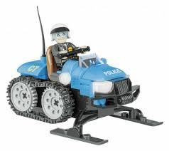<b>Конструктор Cobi</b> Action Town 1544 <b>Полицейский снегоход</b>