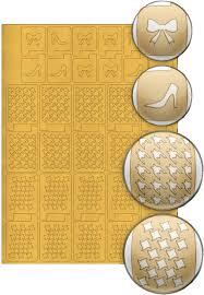 Купить El Corazon <b>Трафареты для дизайна ногтей</b> № 13 в ...