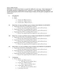 best photos of essay outline format template sample mla cover letter cover letter best photos of essay outline format template sample mlawhat is the format for an