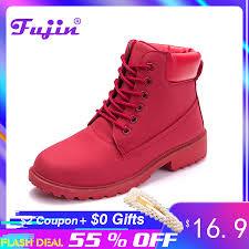 <b>Fujin</b> Winter <b>Boots Women Shoes 2019</b> Warm Fur Plush Sneakers ...