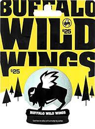 Buffalo Wild Wings Holiday Gift Card $25: Gift Cards - Amazon.com