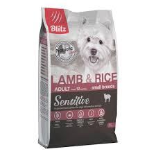 <b>Сухой корм Blitz</b> Adult Small Breeds Lamb & Rice для взрослых ...