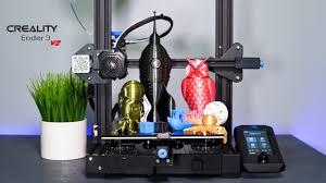 Creality Ender 3 <b>V2</b> - <b>3D Printer</b> - Unbox & Setup - YouTube