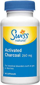 Swiss Natural <b>Activated Charcoal 260mg</b> 90 Capsule: Amazon.ca ...