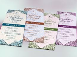 fundraising luncheon flyer template on behance fundraising luncheon flyer template is for church luncheons tea parties galas banquets and other fundraising events the elegant design or ntal and