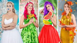 Four Seasons / Winter Girl, Spring Girl, <b>Summer Girl</b> and Autumn Girl