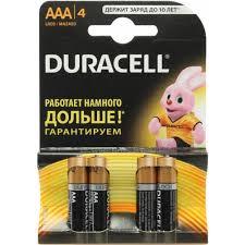 <b>Батарейки AAA Duracell</b> MN2400-4 4 шт. — купить, цена и ...