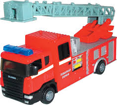 Пожарная <b>машина Autogrand</b> SCANIA с лестницей