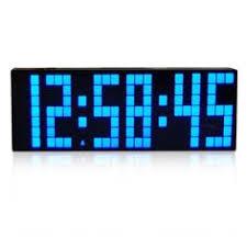 <b>CH KOSDA</b> LED Electronic Clock Digital Alarm Wall Clock Snooze ...