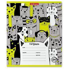 Купить <b>ErichKrause</b> Упаковка <b>тетрадей Stylish</b> Cats 024010154 ...