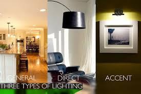 types of interior lighting 3 types of lighting interior accent lighting type