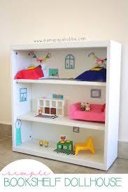 simple bookshelf dollhouse mama papa bubba bookcase dolls house emporium