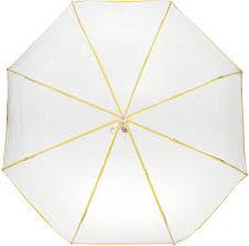 <b>Зонт складной</b> женский <b>Kawaii Factory</b>, цвет: желтый. KW041 ...