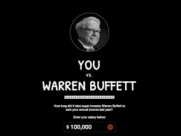 how long it takes warren buffett to earn your salary business warren buffet calculator 1