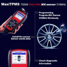 <b>Autel</b> TPMS Replacement Tool TPMS Programming Tool <b>MaxiTPMS</b> ...