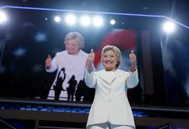 le pen is mightier than clinton s national security sword theblaze democratic presidential nominee hillary clinton appears on stage during the final day of the democratic national