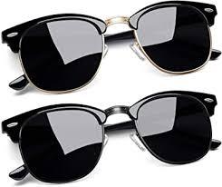 Joopin Semi Rimless Polarized <b>Sunglasses Women</b> Men <b>Retro</b> ...