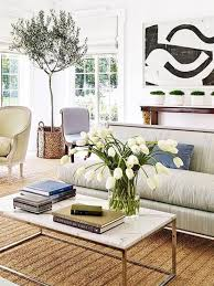 space living room olive: indoor olive tree in traditional living room on thou swell thouswellblog