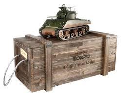 <b>Радиоуправляемый танк Torro Sherman</b> M4A3 75mm Airsoft RC ...