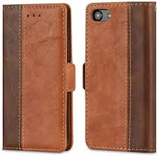iPhone 6S Case, Leedia <b>PU Leather Wallet Case</b> with Card ...