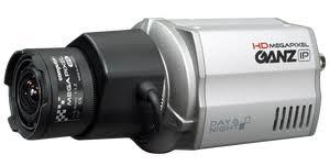 "Ganz ZN-C1M 1/2.5"" Progressive Scan CMOS <b>IP Camera</b>, <b>720p HD</b> ..."