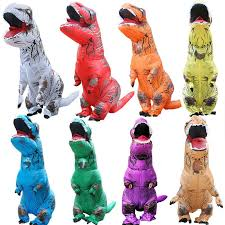 <b>Halloween</b> Clothing <b>Tyrannosaurus Dinosaur</b> Inflatable Clothes ...