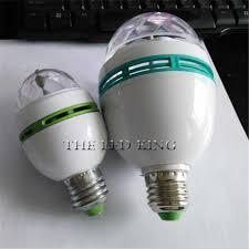 <b>Mini LED</b> Stage Light 9W E27 <b>110V 220V RGB</b> Crystal Magic Ball ...