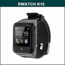 RWATCH <b>R10 Smart Watch</b> GSM <b>Phone</b> - BLACK 12 | eBay