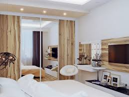 modern bedroom concepts:  white and wood bedroom design