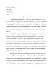 response essay the kite runner   matt mccready mrs  canan ap     pages literary analysis essay   earnest