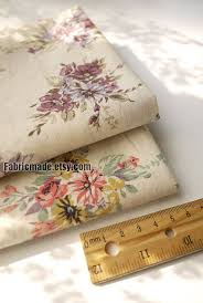 japanese fabric shabby chic linen cotton fabric cloth purple pink camellia floral linen fabric brown linen fabric lighting