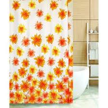 <b>Штора</b> для ванной BLAZE <b>FLOWERS</b> 180х180, <b>цвет</b> оранжевый ...