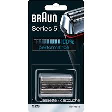 Braun <b>Shaver Replacement</b> Part 52 S <b>Silver</b> - Compatible with ...