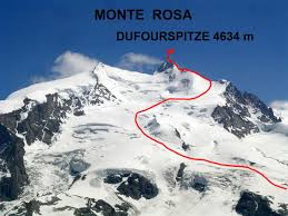「first mountain conquered Monte Rosa」の画像検索結果