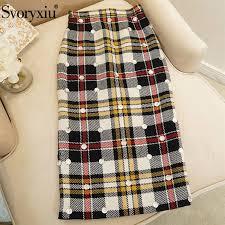 <b>Svoryxiu</b> High End Customization Wool Blended Long Skirts ...