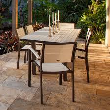 poly patio pub table
