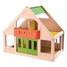 PlanToys My First Dollhouse  pTRU   dt jpg    Plan Toys Wooden Dollhouse Re Re De