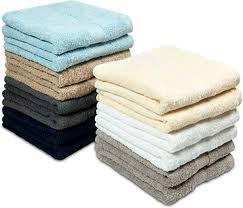 COTTON CRAFT - 14 Pack Multi Color Hand Towels ... - Amazon.com